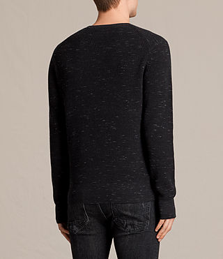 Herren Trias Crew Jumper (CINDER BLACK NEP) - product_image_alt_text_4