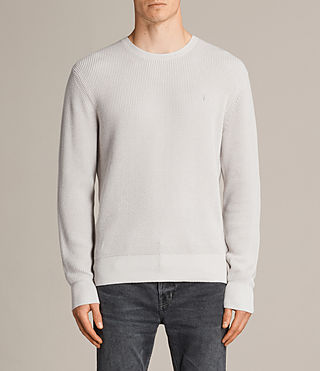 Men's Trias Crew Jumper (SODIUM GREY) -