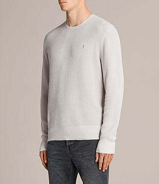 Men's Trias Crew Jumper (SODIUM GREY) - product_image_alt_text_3