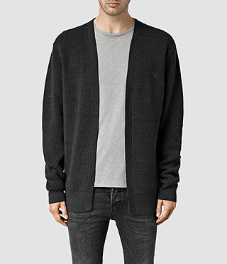 Men's Trias Cardigan (Cinder Marl)