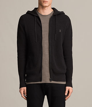 Men's Trias Hoody (Cinder Black Marl)