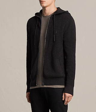 Hommes Trias Hoody (Cinder Black Marl) - product_image_alt_text_2