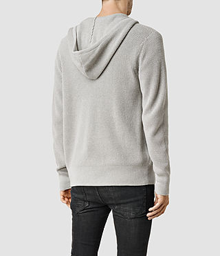 Hombres Sudadera con capucha Trias (Light Grey Marl) - product_image_alt_text_5