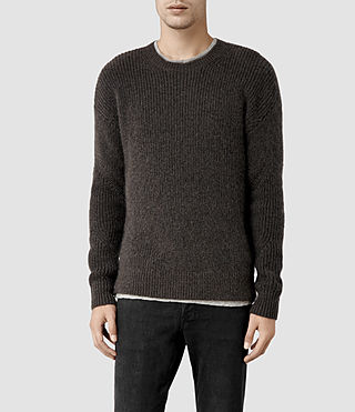 Mens Kido Crew Sweater (Beluga)