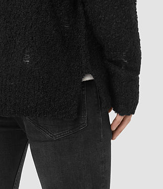 Uomo Hannent Cardigan (Black) - product_image_alt_text_2