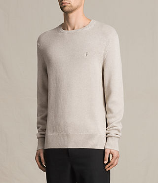 Uomo Pullover Kai (Taupe Marl) - product_image_alt_text_3