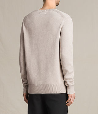 Uomo Pullover Kai (Taupe Marl) - product_image_alt_text_4