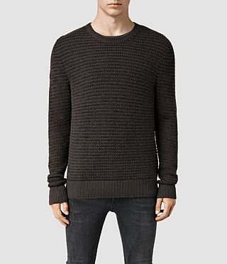 Men's Sentrikk Crew Jumper (Khaki Brown)