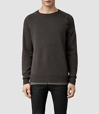 Mens Jolt Crew Sweater (Khaki)