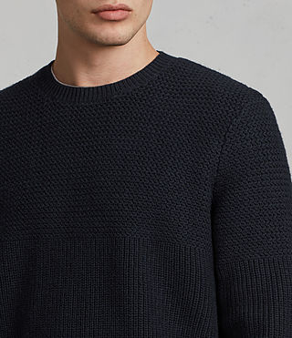 Mens Karnett Crew Sweater (INK NAVY) - product_image_alt_text_2