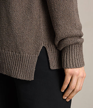 Men's Minami Crew Jumper (KHAKI TAUPE) - product_image_alt_text_2
