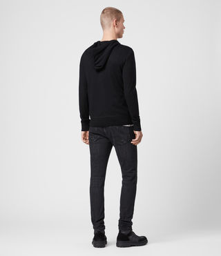 Mens Mode Merino Hoody (Black) - Image 4