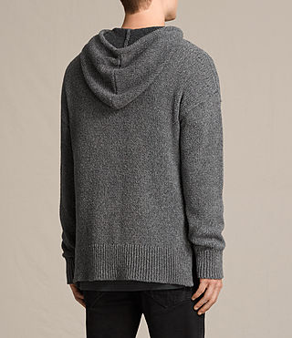 Hommes Sweat à capuche Minami (Charcoal Marl) - product_image_alt_text_3