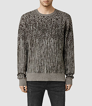 Men's Kamleo Crew Jumper (Khaki Green)