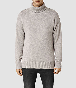 Men's Arley Funnel Jumper (Grey Marl)