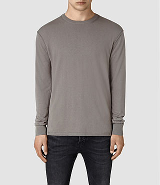 Hommes Dayce Crew Jumper (Military Grey)