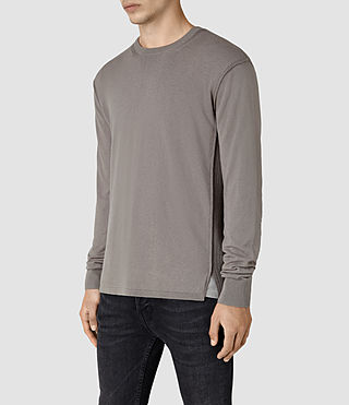 Herren Dayce Crew Jumper (Military Grey) - product_image_alt_text_3