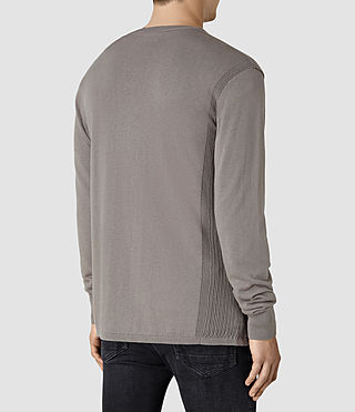 Herren Dayce Crew Jumper (Military Grey) - product_image_alt_text_4