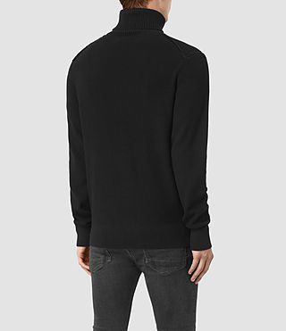 Mens Rothay Funnel Sweater (Black) - product_image_alt_text_4