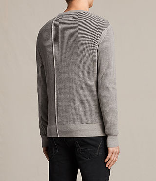 Hommes Marrin Crew Jumper (PUTTY GREY MARL) - product_image_alt_text_4