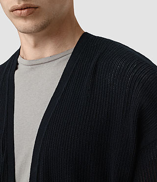 Hombre Skomer Cardigan (INK NAVY) - product_image_alt_text_2