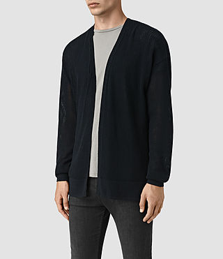 Hombre Skomer Cardigan (INK NAVY) - product_image_alt_text_3