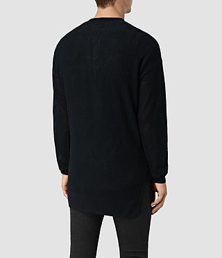 Hombre Skomer Cardigan (INK NAVY) - product_image_alt_text_4