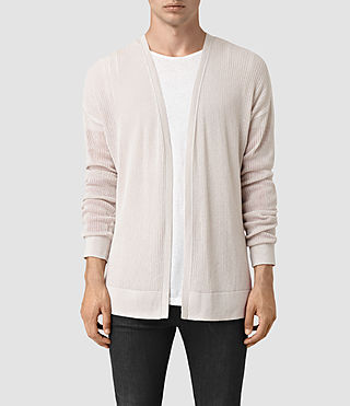 Men's Skomer Cardigan (OYSTER WHITE)