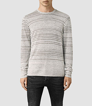 Men's Brakken Crew Jumper (Grey Marl)