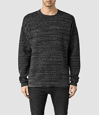 Men's Roam Crew Jumper (Charcoal Marl)