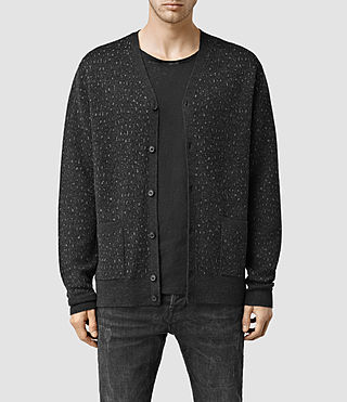 Men's Roam Cardigan (Cinder Black Marl)