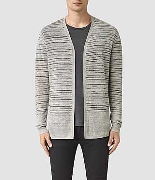 Mens Brakken Cardigan (Grey Marl)
