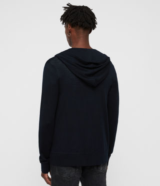Men's Mode Merino Zip Hoody (INK NAVY) - Image 5