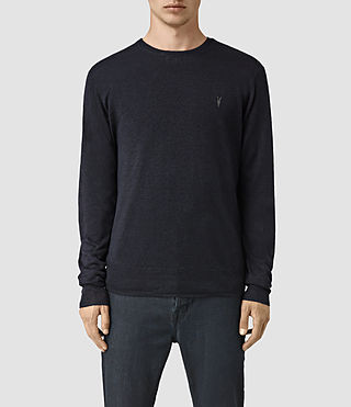 Mens Opus Crew Sweater (INK NAVY) - product_image_alt_text_1