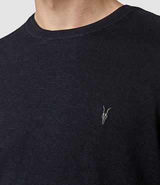 Hombres Opus Crew Jumper (INK NAVY) - product_image_alt_text_2