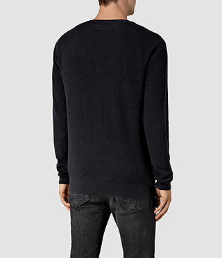 Hombres Kamburn Crew Jumper (INK NAVY) - product_image_alt_text_4
