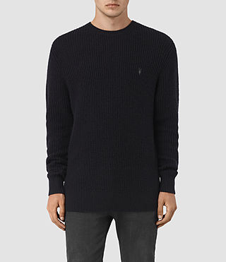 Mens Lymore Crew Sweater (INK NAVY)