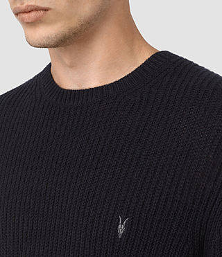 Hommes Lymore Crew Jumper (INK NAVY) - product_image_alt_text_2