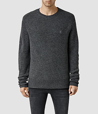 Men's Lymore Crew Jumper (Charcoal Marl)