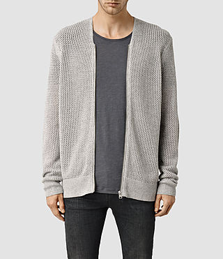 Men's Baynham Cardigan (Light Grey Marl)