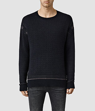 Men's Tynan Crew Jumper (INK NAVY)