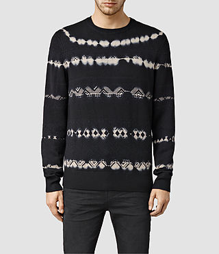 Men's Kollide Crew Jumper (INK NAVY)