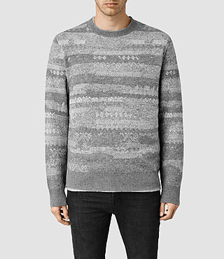 Men's Norlinn Crew Jumper (Grey Marl)