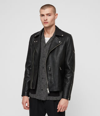 Uni Leather Biker Jacket
