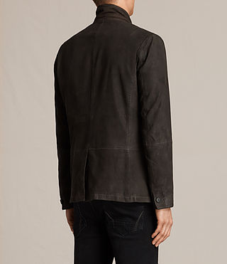 Uomo Merson Leather Blazer (ANTHRACITE GREY) - product_image_alt_text_7