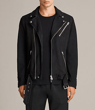 kolton leather biker jacket