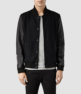 Men's Milo Bomber Jacket (Black)