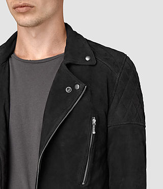 Uomo Kenji Biker (Washed Black) - product_image_alt_text_2