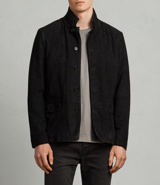 Nolan Leather Blazer