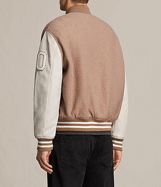 Hommes Bomber Base (SMOKE ORANGE/WHITE) - product_image_alt_text_7